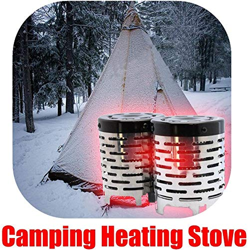 Nearthuk Mini Heater Portable Camping Stove -for Outdoor Backpacking Camping Hiking Traveling BBQ Equipment Warmer…