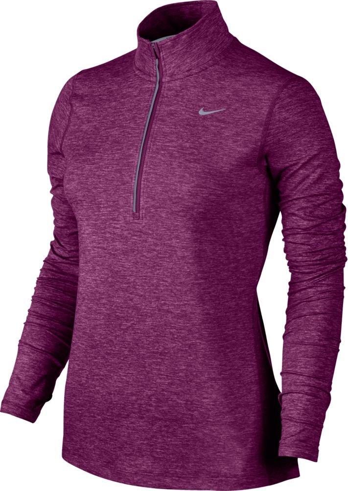 Nike Women's Element Half Zip - X-Large - True Berry/Heather