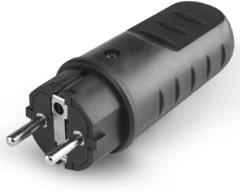 Scame 110.3100 Conector El/éctrico 250 V Negro