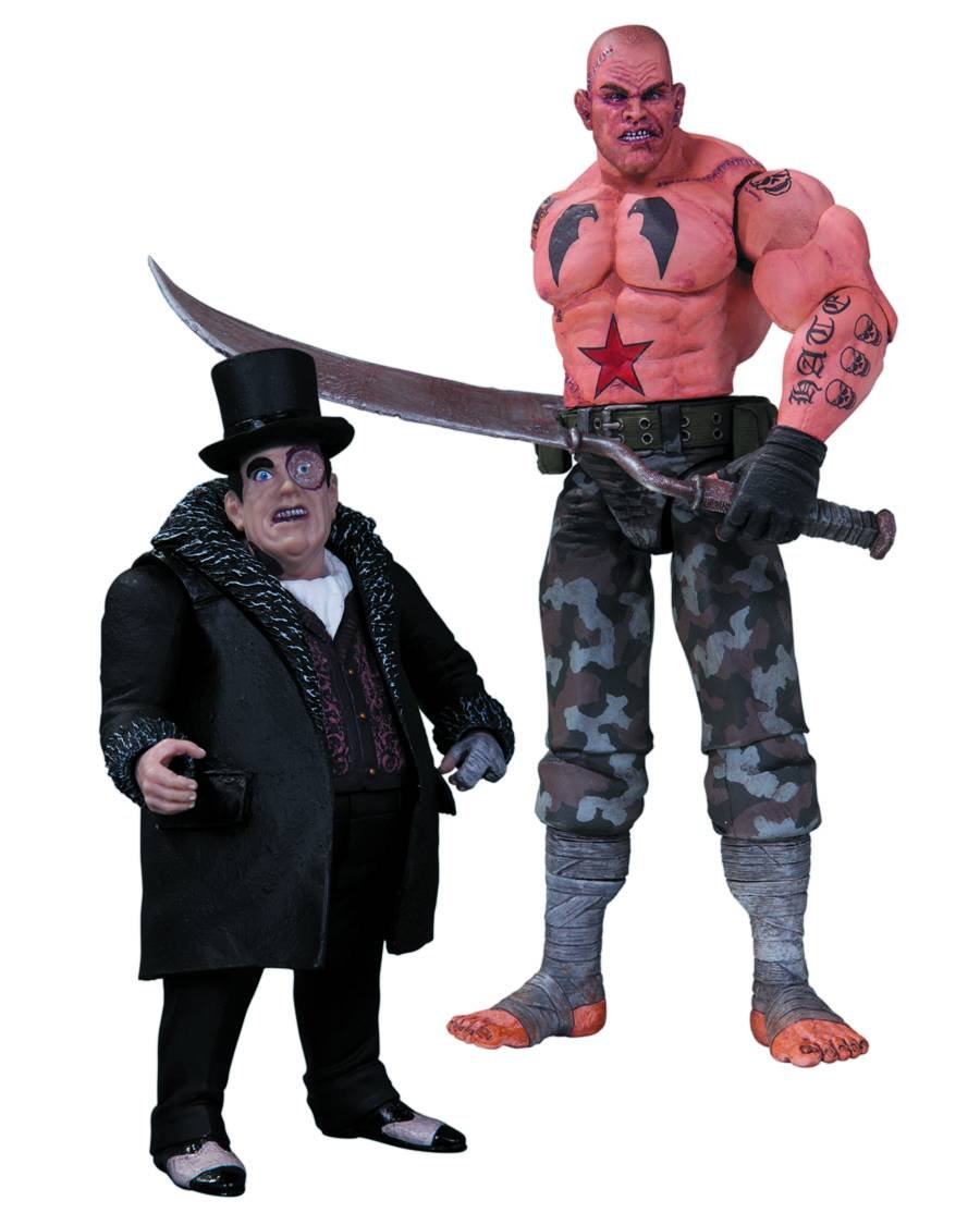 DC Direct - Bathomme Arkham City pack 2 figurines Sickle & Penguin 17 cm