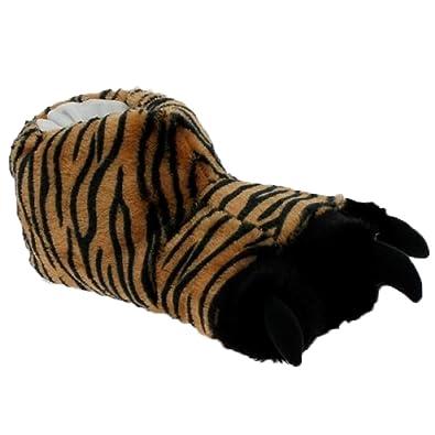 Magnus - Herren Hausschuhe Tigertatze mit Krallen