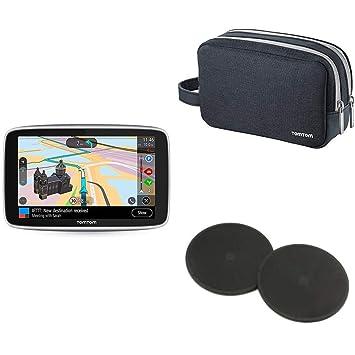 TomTom Go Premium - Navegador GPS 6´ con Actualizaciones Via WiFi,Trafico y Radares para Toda la Vida Mediante Tarjeta Sim Incluida, Mapas del Mundo + ...