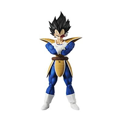 TAMASHII NATIONS Bandai S.H. Figuarts Vegeta Dragon Ball Z Action Figure: Toys & Games