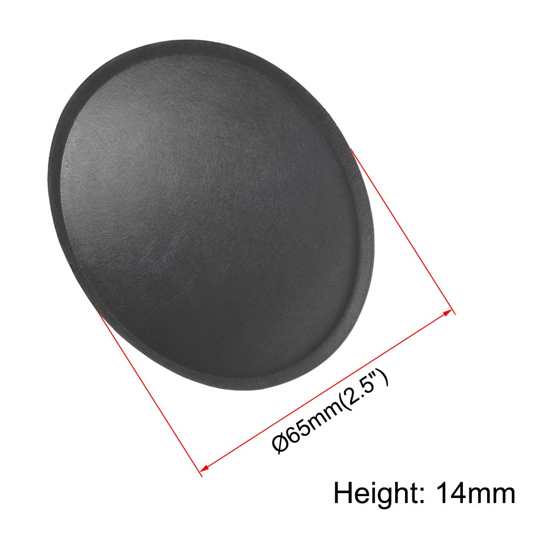 uxcell Speaker Dust Cap 65mm//2.5 inches Diameter Subwoofer Paper Dome Coil Cover Caps