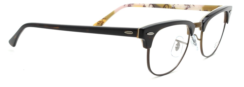 1a93bb2c6244 Amazon.com  Ray-Ban RX5154 Clubmaster Optics Prescription Glasses 5650 - 49   Clothing