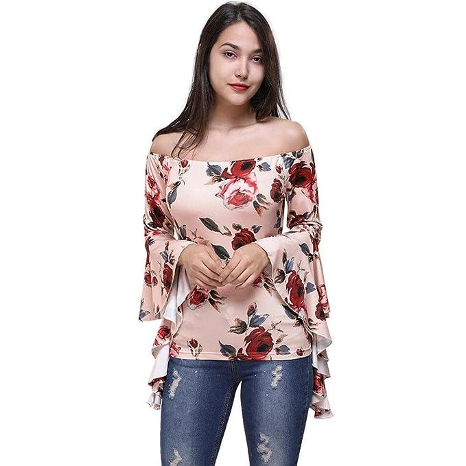 1f687fa5c5 Camisetas Hombro Descubierto Mujer