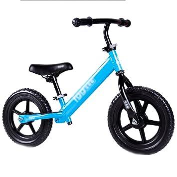 YIHOME- Niño Deslizante Coche Walker Scooter Bebé Sin Pedal Bicicleta Niños Juguetes Rueda Doble 2-6 Años De Edad,Blue: Amazon.es: Deportes y aire libre