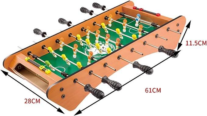 Football Table Juego de Mesa de futbolín para Jugar al Billar con ...