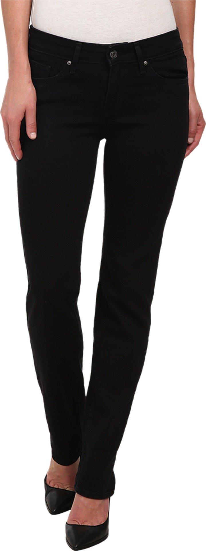 Levi's Women's 712 Slim Jeans, Soft Black, 30 (US 10) R
