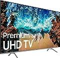 "Samsung UN82NU8000FXZA Flat 82"" 4K UHD 8 Series Smart LED TV (2018) (Renewed)"
