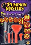 PUMPKIN MASTERS Pumpkin Carving Kit Deluxe, 1 Each