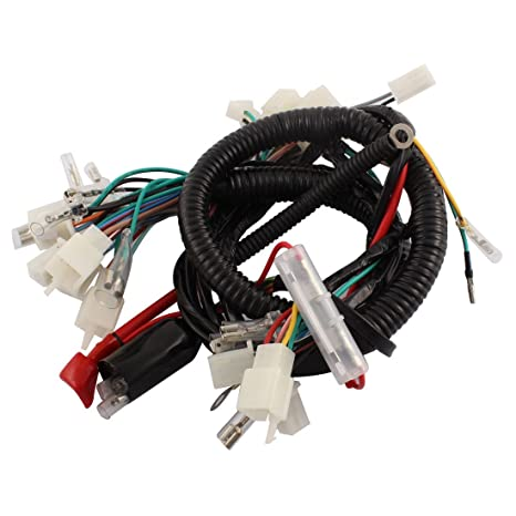 uxcell Motorcycle Electrical Main Wiring Harness on