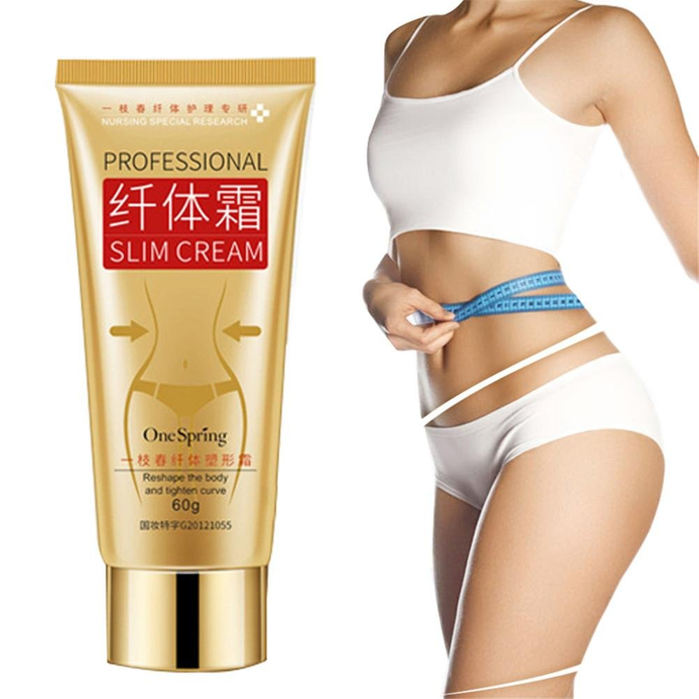 Blueyouth Slimming Cream Fat Burner Cream Cellulite Cream, Cellulite Remover Firming Cream Lose Weight For Belly, Abdomen, Legs, Hands, Body, Skin Clamping (60g) Househome