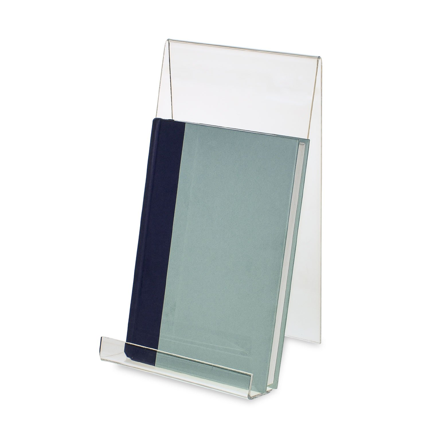 SOURCEONE.ORG Source One Deluxe Large Clear Acrylic Easel 11 x 6 Perfect for Displaying Books, Paintings, iPads (6)