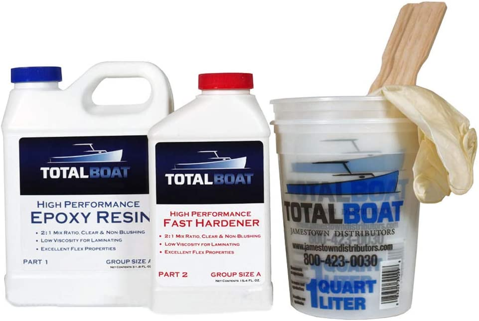 TotalBoat High Performance Epoxy Kits (Quart, Fast)
