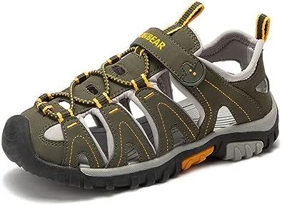 Gaatpot Sandalias Deportivas para Unisex niños Aire Libre Deporte Zapatillas de Senderismo Sandalias con Punta Cerrada Zapatos