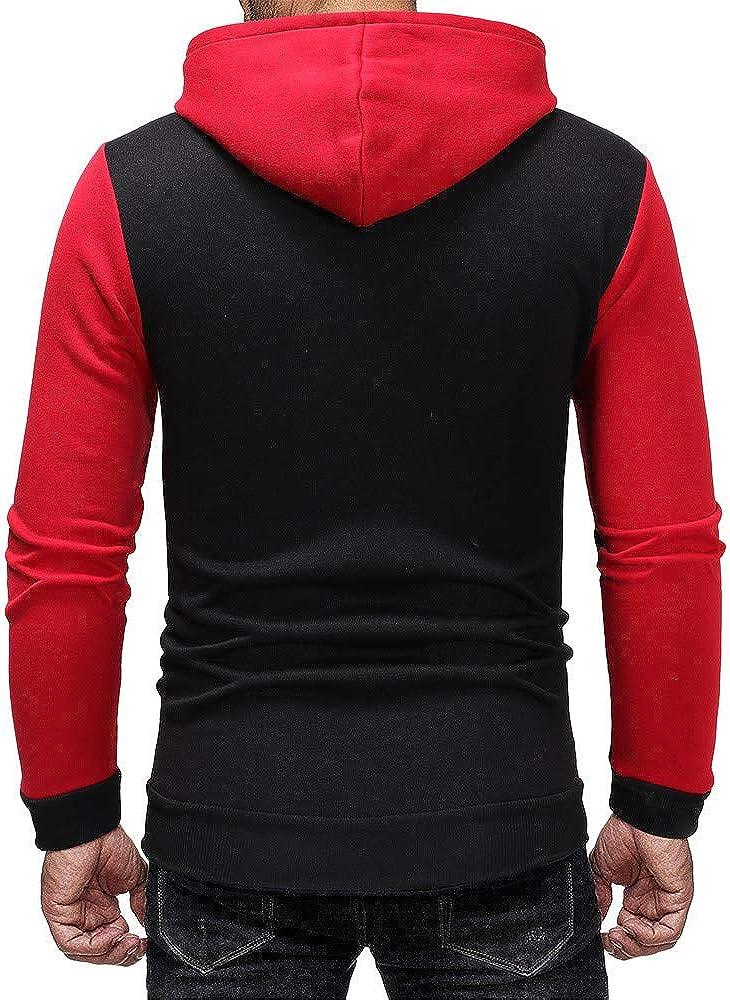 Kstare Men Tracksuit Mens Slim Fit Athletic Tracksuit Full Zip Jogging Sweat Suits