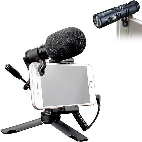 Tubace - Kit de vídeo para smartphones con micrófono de vídeo ...