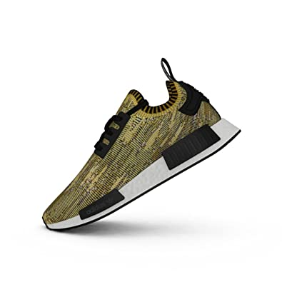 4d0dc5f73 Image Unavailable. Image not available for. Color  Adidas Originals NMD  Runner Primeknit Yellow ...