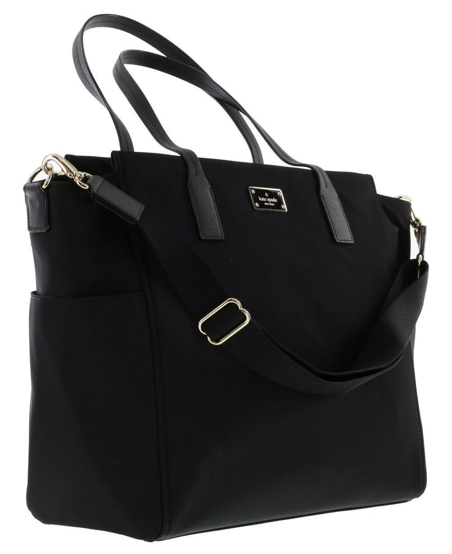 kate spade new york blake avenue kaylie baby bag diaper bag black black new. Black Bedroom Furniture Sets. Home Design Ideas