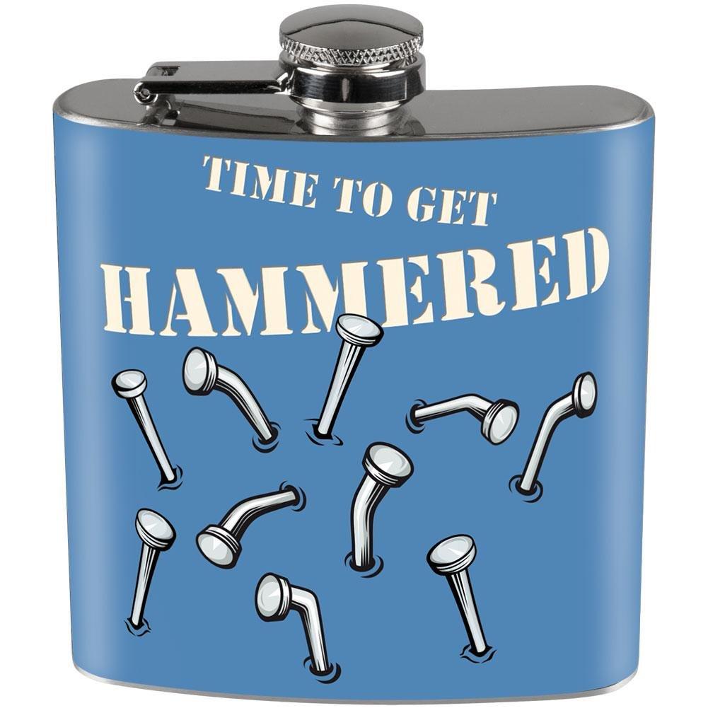 【ご予約品】 Time to Get Time Hammered Get Full Wrapスチールフラスコ to B01DWLJVHQ, サガエシ:046b0741 --- west-llc.com