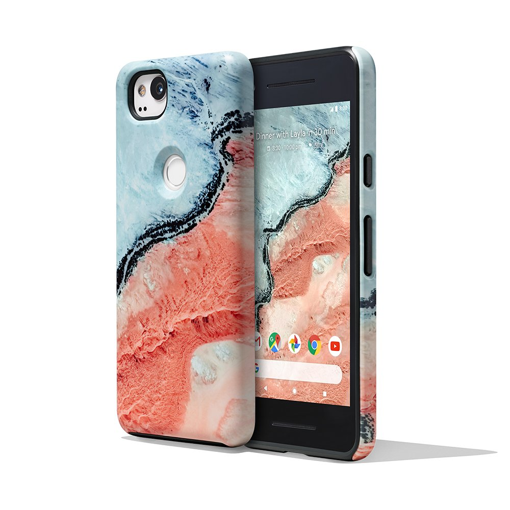 more photos 74459 dfadb Amazon.com: Google Earth Live Case for Pixel 2 - River: Cell Phones ...