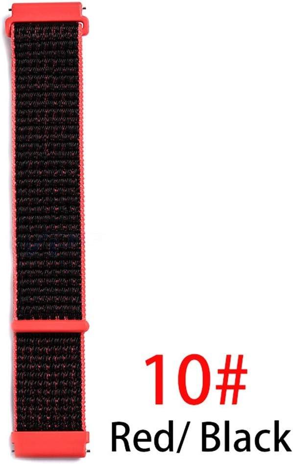 Amazon.com: Nylon Loop Woven Strap for Xiaomi Huami Amazfit ...