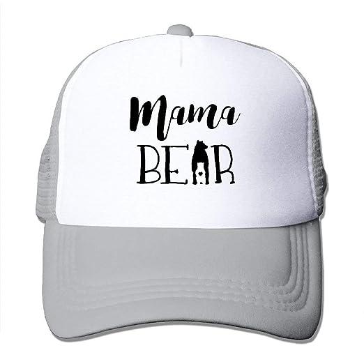 Funny Mama Bear Mesh Women s Baseball Cap Athletic Casual Casual ... f5cadd8bf68