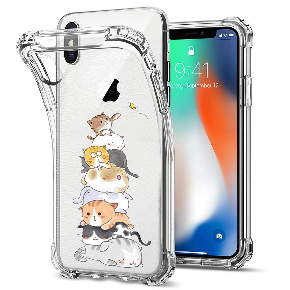 Suhctup H/ülle Kompatibel mit Samsung Galaxy S8 Handyh/ülle TPU Bumper Silikon Transparent Weiche Schlank Schutzh/ülle Handytasche Gummi D/ünn Flexibel Case Handy Soft Back Cover Handytasche