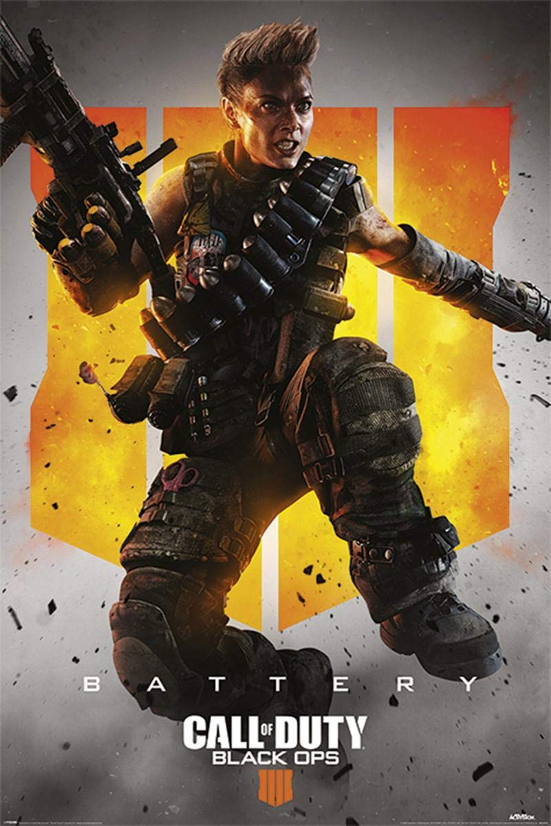 Call of Duty COD Poster Black Ops 4 Characters 61x91.5cm
