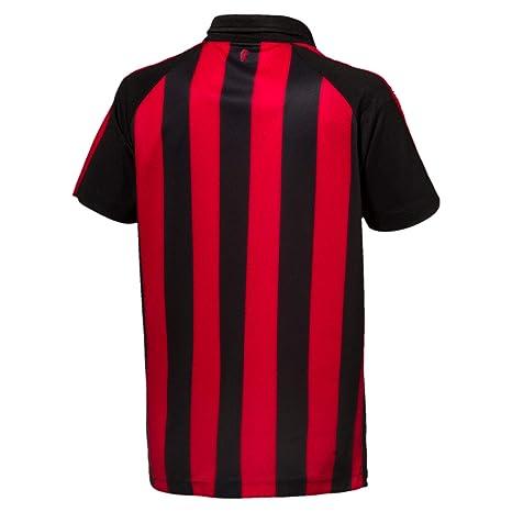 PUMA AC Milan Home Shirt Replica SS Kids with Sponsor Logo Jersey ...
