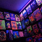 ultraviolet 69 classic blacklight posters from the aquarian age and beyond daniel donahue. Black Bedroom Furniture Sets. Home Design Ideas