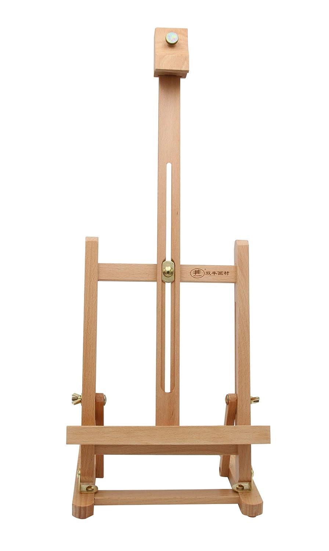 Asiento Caballete Paintersisters-Neuss Caballete de Mesa t de 40/de Haya FSC para Bastidor de hasta 40/cm malh/öhe y /ángulo de inclinaci/ón Regulable