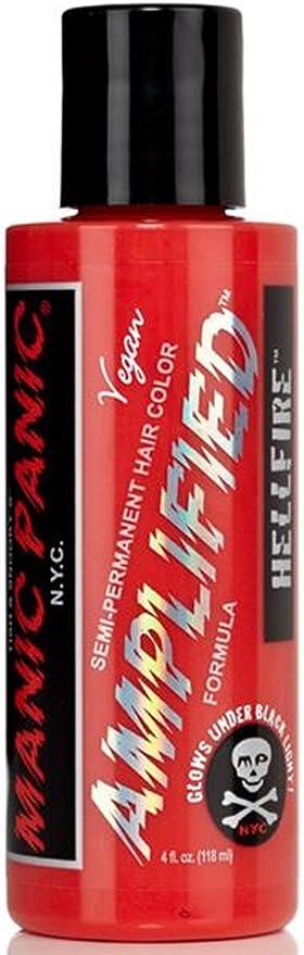 Hellfire Red amplificado Manic Panic Botella de Plástico ...