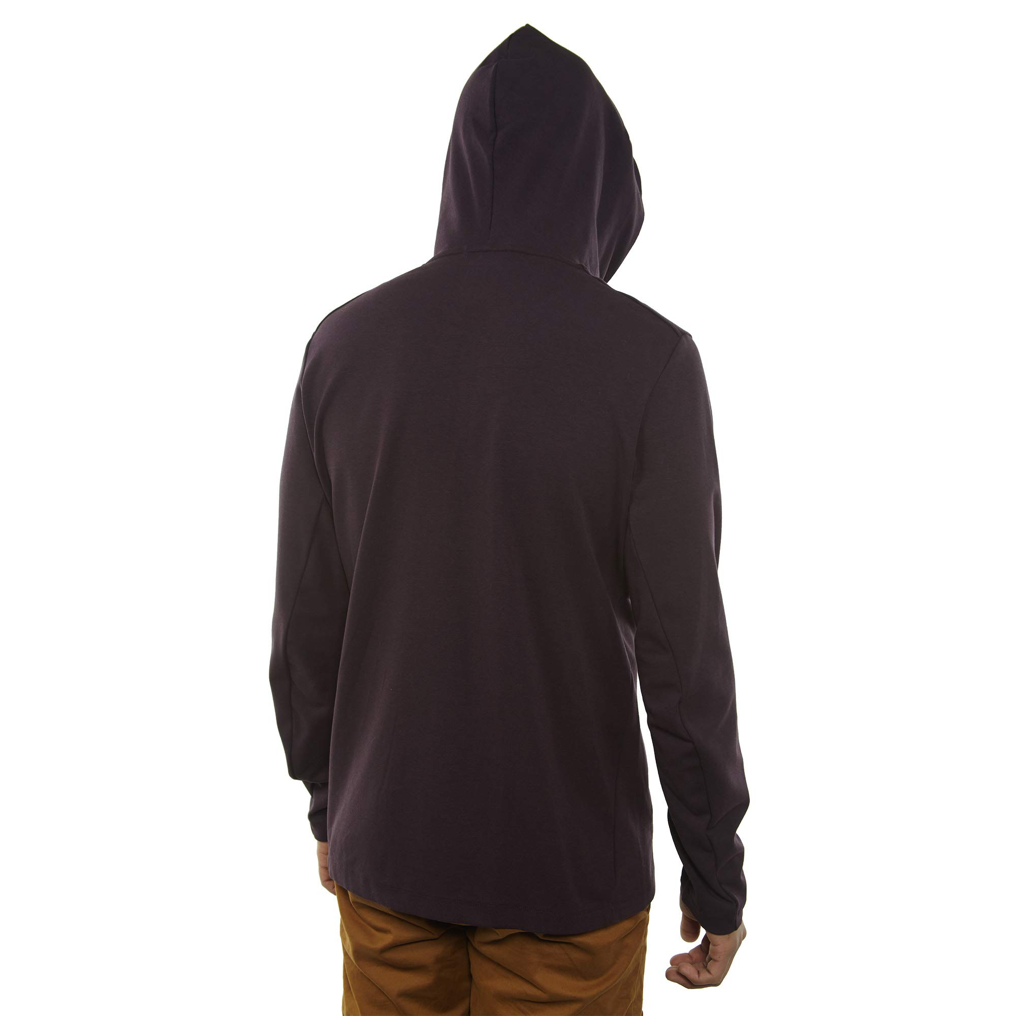 Nike Mens Tech Fleece Pack Full Zip Training Hoodie Burgundy Ash/Black AA3784-659 Size Small by Nike (Image #4)