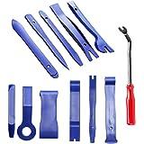 Kitbest Trim Removal Tool, 12Pcs Auto Panel Removal Tool Car Interior Trim Kit Fastener Rivet Remover Plastic Pry Tool…