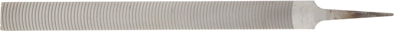 Clog-Resitant Nicholson Flat Hand File Rectangular Curved Cut 12 Length American Pattern