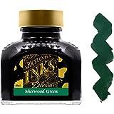 Diamine 80ml Sherwood Green fountain pen ink bottle