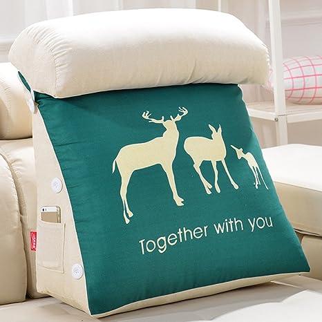 Almohada de sofá Triangular, Pretina extraíble y Lavable ...