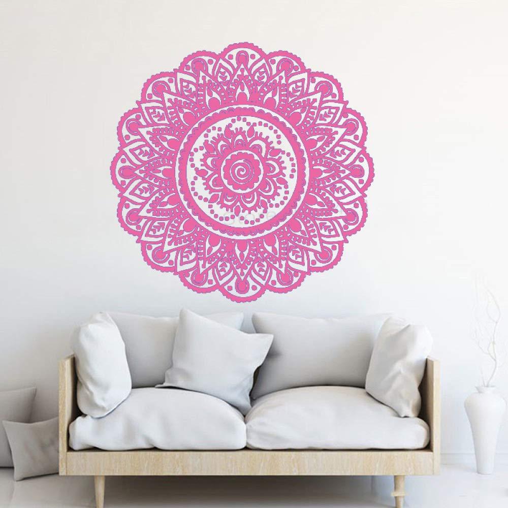 xingbuxin Tatuajes de Pared Namaste Mandala Flor Vinilo Arte Mural ...