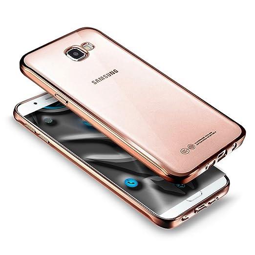 21 opinioni per Custodia Cover Samsung Galaxy A5(2017) silicone,Ukayfe Ultra Slim Custodia Cover