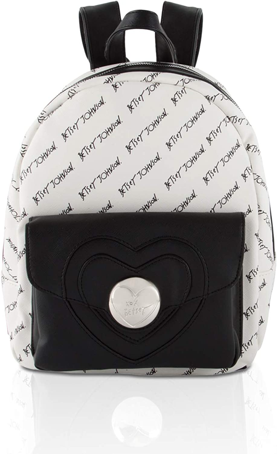 Betsey Johnson Womens Side Bow Backpack