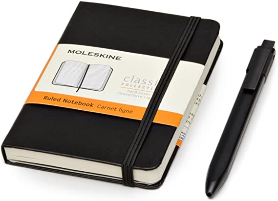 Moleskine Bundle Notebook - Bolsillo para bolígrafo: Amazon.es ...