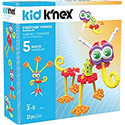 K'NEX Kid Stretchin' Friends Building Set – 23Piece – Ages 3 & Up Preschool Educational Toy Building Set