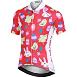LPATTERN Kids Children Boys' Girls' Short Sleeve Cycling Jersey Cycling Clothes for Youth