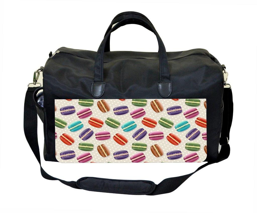 Macarons Pattern Weekender Bag