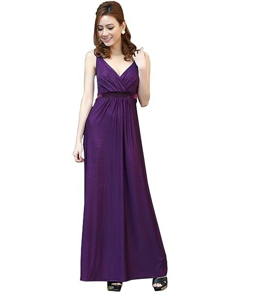 Vestido largo de corte imperio, dama de honor, fiesta de graduación, de la marca Medeshe : Amazon.es: Ropa y accesorios
