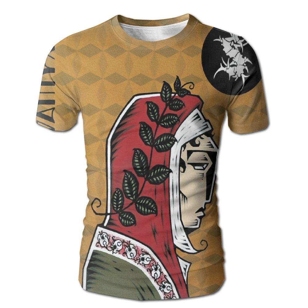 HUANGLING QING Sepultura Dante XXI Men's 3D Print Short Sleeve Tshirt XXL
