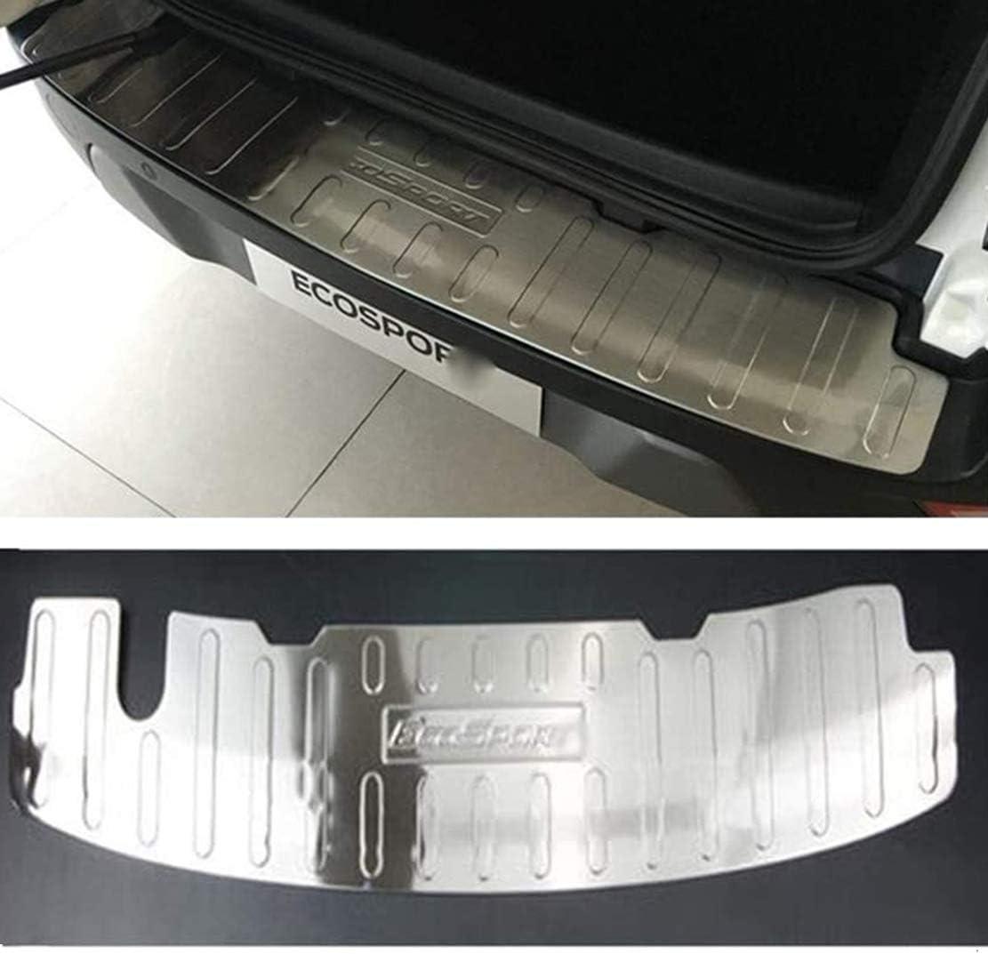 Accessori per Auto in Acciaio Inossidabile Striscia di Copertura per carrozzeria con Protezione AntiGraffio MNBX Protezione paraurti Posteriore per Ford Ecosport 2018