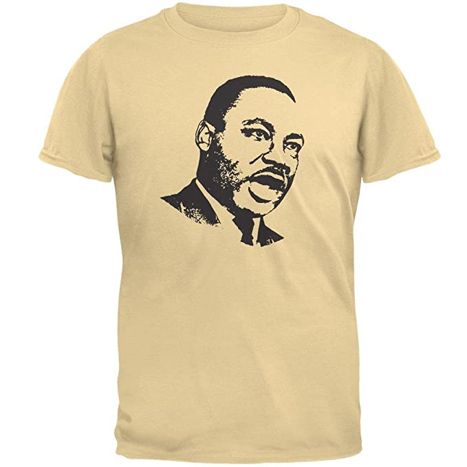 Amazon Com Old Glory Martin Luther King Jr Mens T Shirt Clothing